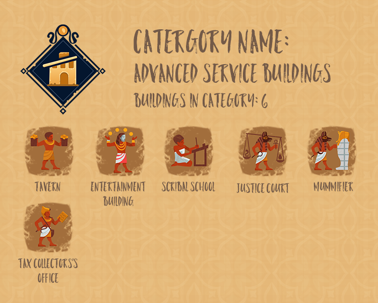 Category Info - Advanced Service Buildings