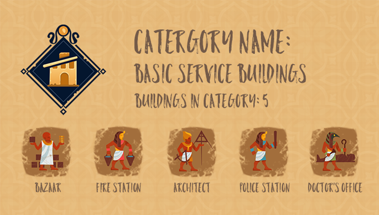 Category Info - Basic Service Buildings